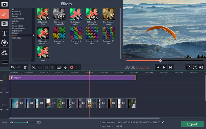 Download iMovie for PC Alternative to Make Movies on Your PC